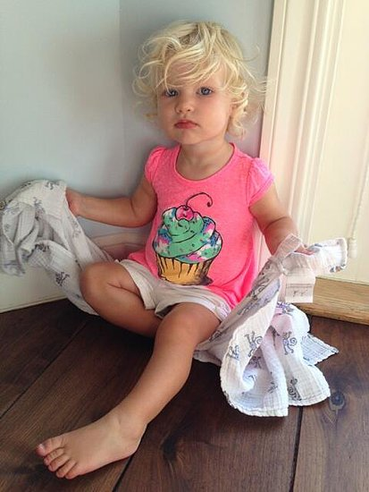 "Jessica Simpson posted a photo of her ""crazy beautiful"" daughter, Maxwell. Source: Twitter user jessicasimpson"