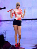 Taylor Swift rocked the house at the 2012 VMAs.