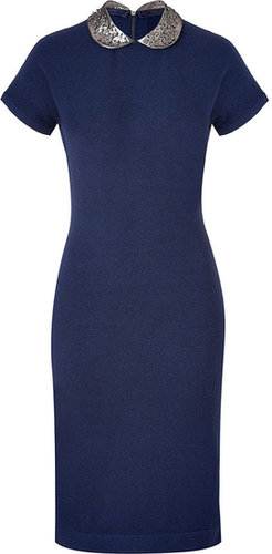 Marc by Marc Jacobs Normandy Blue Heather Mika Sweater Dress