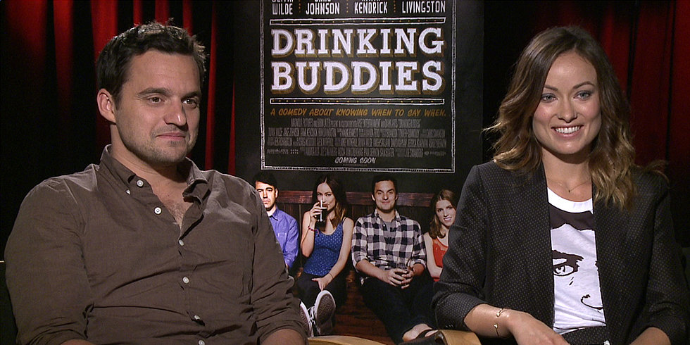 Olivia Wilde and Jake Johnson Went to Work Drunk, and It Turned Out Just Fine