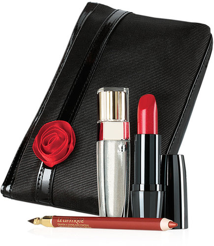 Lancome Glamorous In Red Lip Set