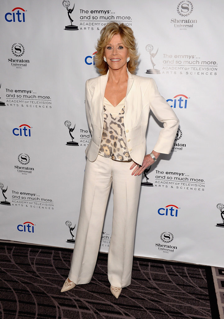 Jane Fonda celebrated among the Emmy nominees.