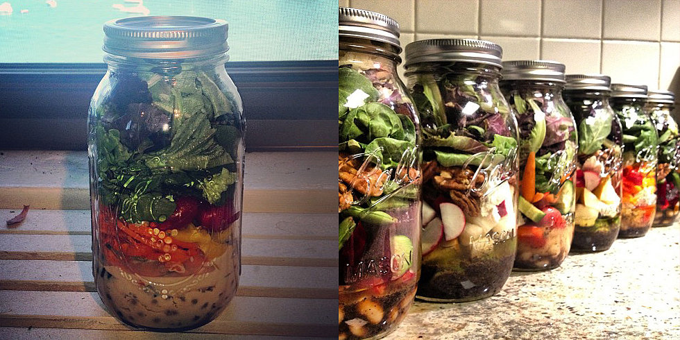 The Case For Packing Your Lunch in a Mason Jar