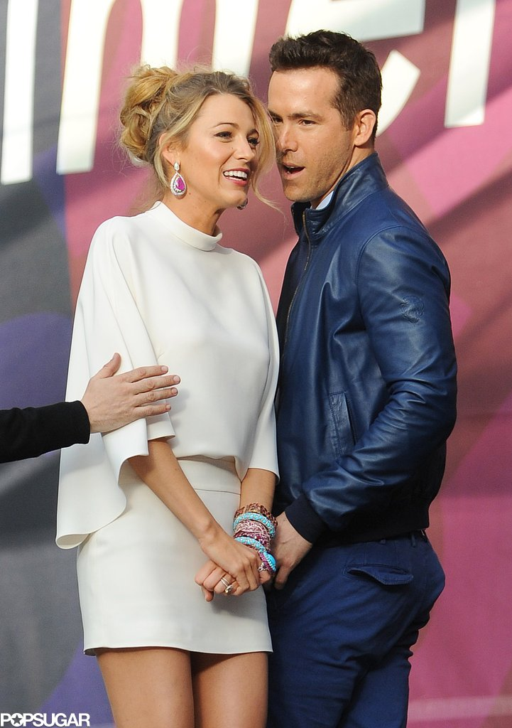 Blake Lively and Ryan Reynolds got cute in June 2013 when they attended the Chime for Change concert in London.