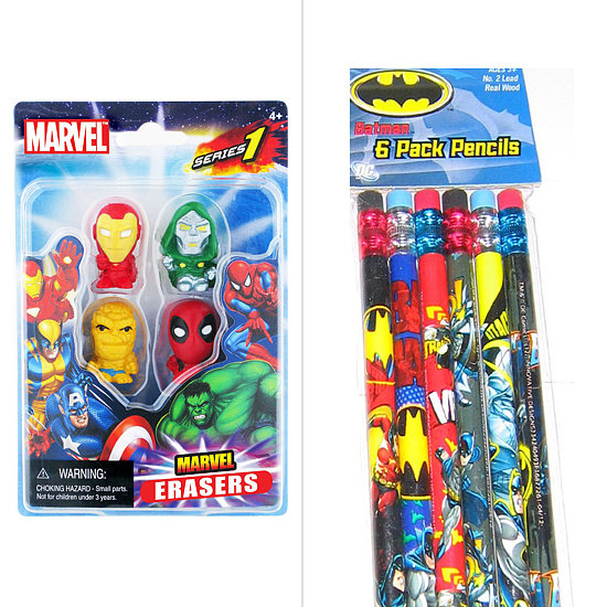 Hero Pencils and Crayons
