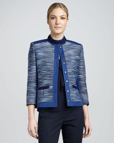 T Tahari Ruby Tweed Jacket