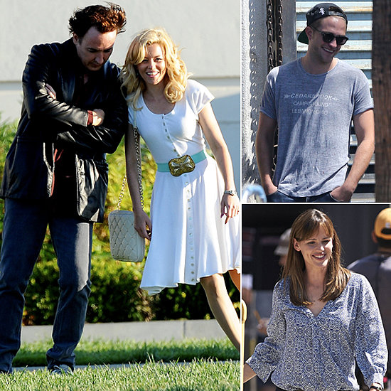 Robert Pattinson, Elizabeth Banks, Jennifer Garner, and More Stars on Set