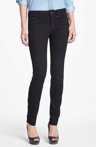 Wit & Wisdom Skinny Jeans (Black) (Nordstrom Exclusive) Womens Black Size 0 0