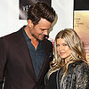Pregnant Fergie and Josh Duhamel at Scenic Route Premiere