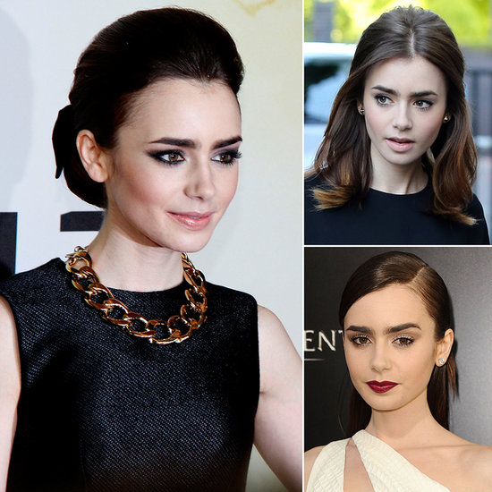 Lily Collins Hasn't Met a Beauty Look She Hasn't Tried . . . or Nailed