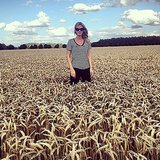 Nicky Hilton posed in a cornfield. Source: Instagram user nickyhilton