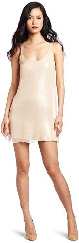Nicole Miller Women's Racerback Simple Dress