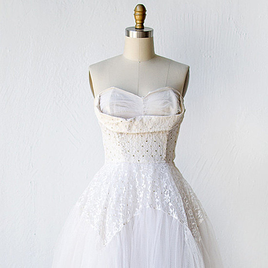 10 Vintage Wedding Dresses for the Offbeat Bride