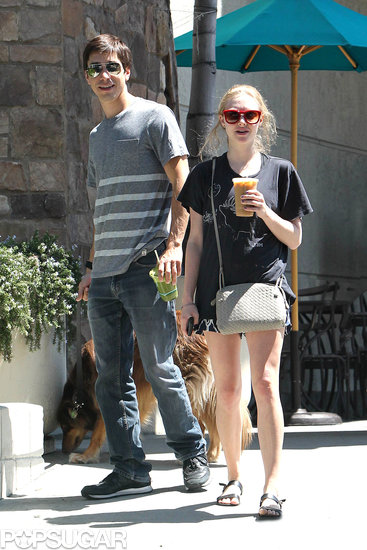 Amanda Seyfried and Justin Long's Puppy Love Is Now on Display