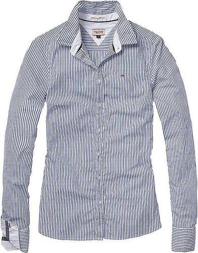 Hilfiger Denim Blusen »Franny shirt l/s stripe«
