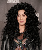 Cher takes the cake for the biggest hair in VMAs history with this oversized hairstyle.