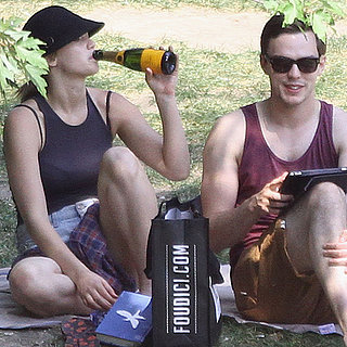 Jennifer Lawrence and Nicholas Hoult Park Date Video