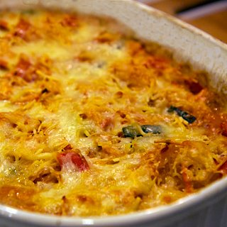 Gluten-Free Cheese and Vegetable Bake Recipe