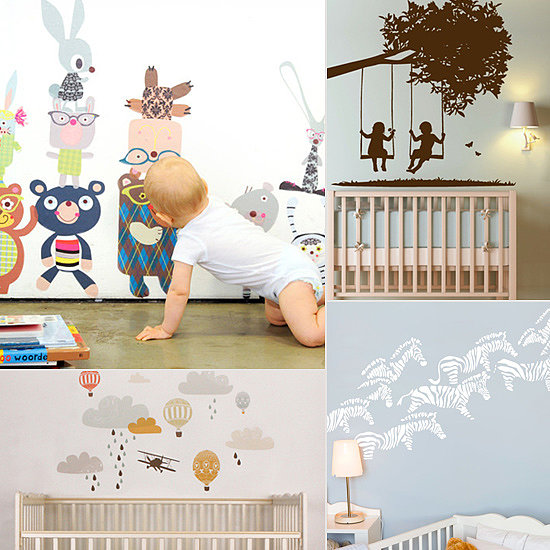 Nursery Room Makeover: 10 Adorable Baby Room Decals