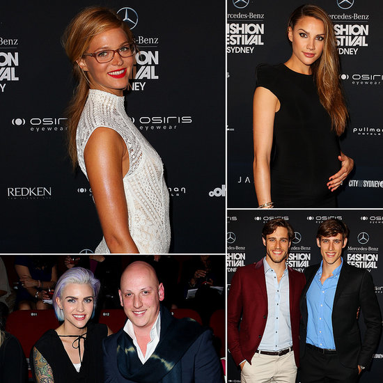 Erin Heatherton Hits the Runway to Launch Mercedes-Benz Fashion Festival Sydney