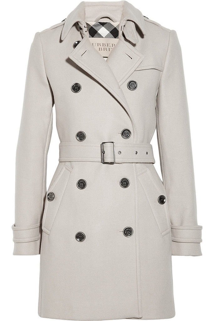 A Burberry trench coat is a forever classic; this Burberry Britt mid-length option ($995) is worth the investment.