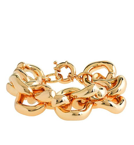 J.Crew's classic chain bracelet ($88) emotes a glamorous look — at an affordable price.