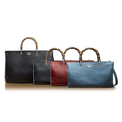 Gucci Bamboo-Handled Handbags