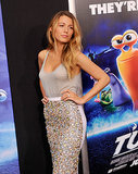 Blake Lively made a dazzling appearance at the NYC premiere of husband Ryan Reynolds' movie Turbo in July 2013.