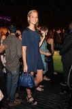 Erin Heatherton went for a true blue outfit to celebrate the 10th anniversary of Soho House in New York City.