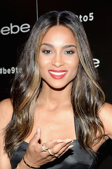 Ciara debuted a longer hairstyle, courtesy of extensions, and we love the darker hue, too!