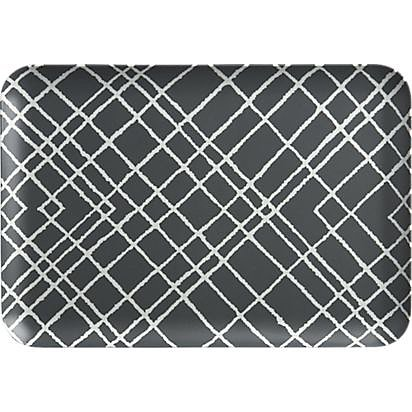 Breakfast in bed will get a whole lot chicer when you use this plaid tray ($9).
