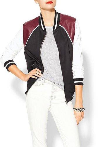Hive & Honey Varsity Colorblock Jacket