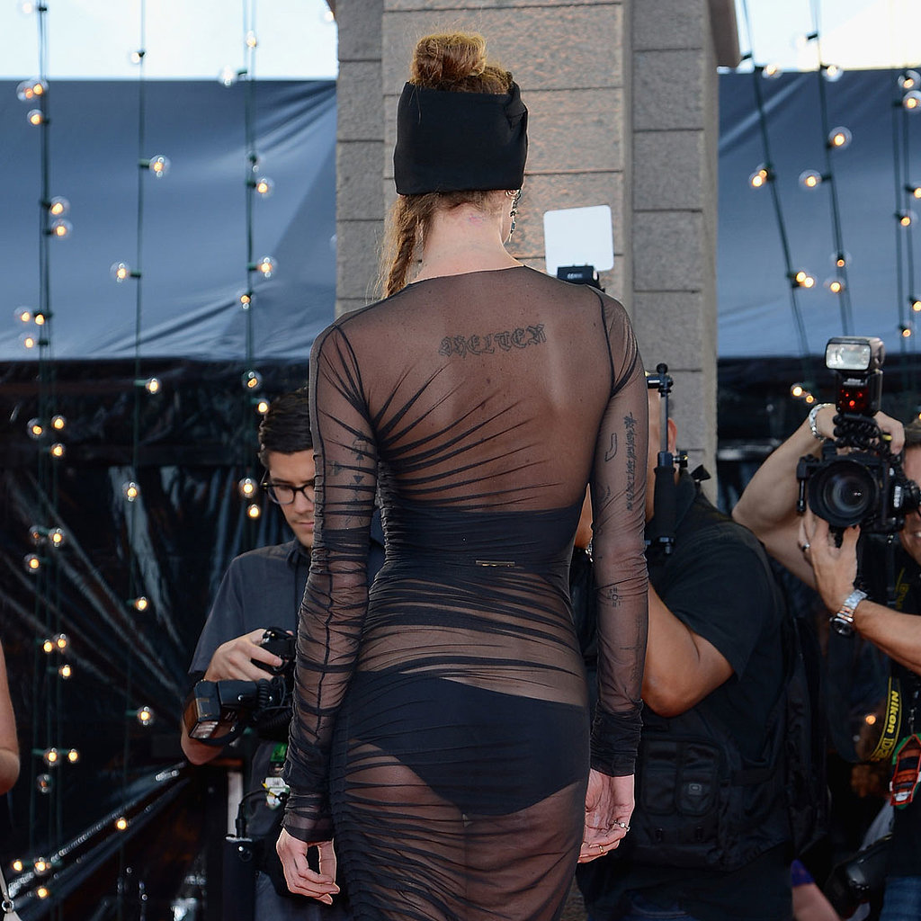 Erin Wasson Dress at VMAs 2013 | Pictures