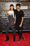 Willow and Jaden Smith hit the MTV VMAs red carpet together.