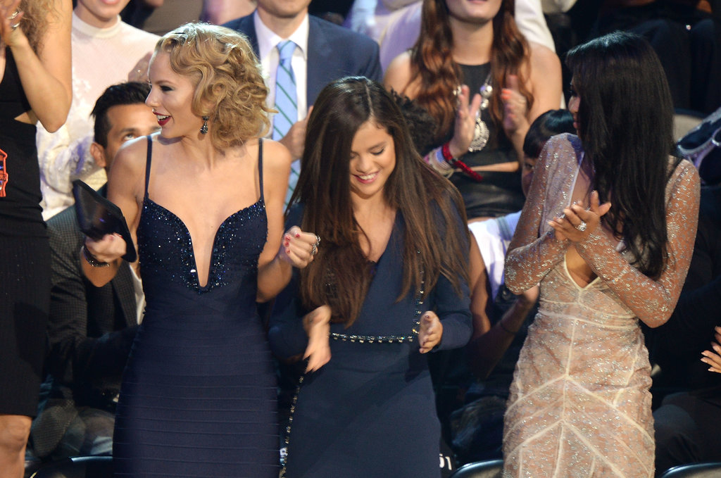 Taylor Swift and Selena Gomez danced during the MTV VMAs.
