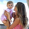 Gisele Bundchen With Daughter Vivian Pictures