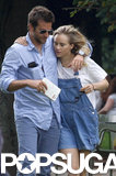 Bradley Cooper kept his arm around Suki Waterhouse in Paris.