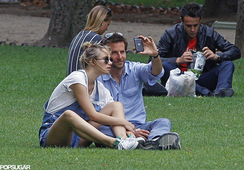 Bradley Cooper snapped a selfie with Suki Waterhouse in Paris.