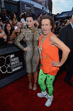 Katy Perry and Richard Simmons