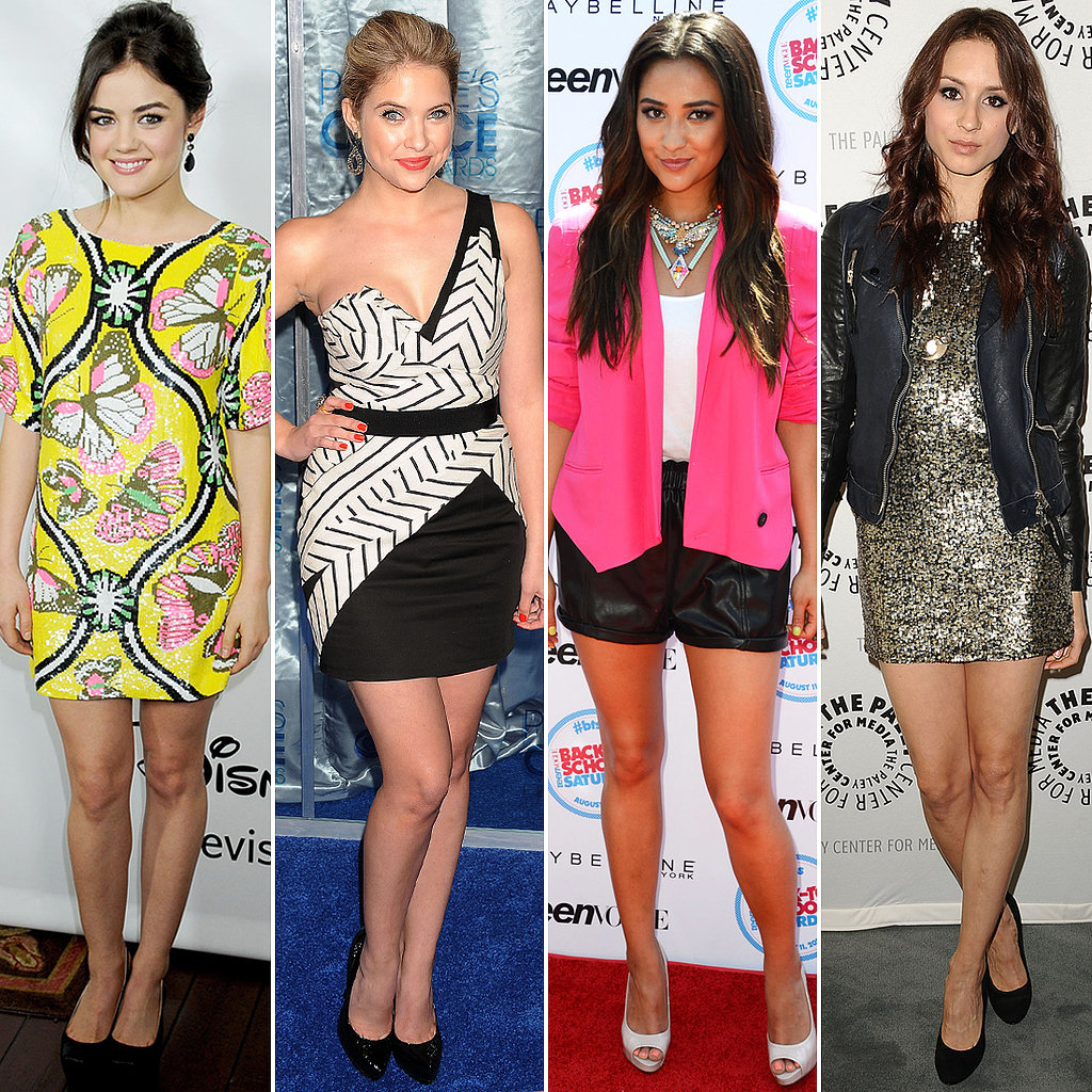Pretty Little Liars' Leading Ladies: Off Screen and On Trend
