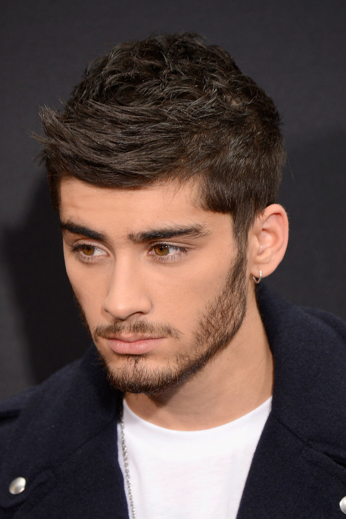 Zayn Malik stepped out for the premiere of One Direction: This Is Us.