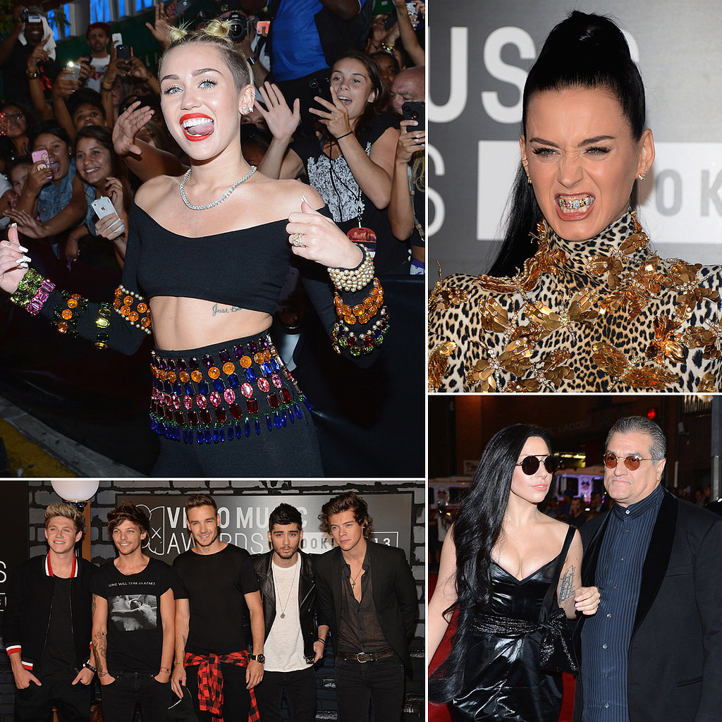 All the Celebrity Red Carpet Arrivals at the 2013 MTV Video Music Awards