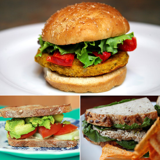 Hearty and Healthy Vegetarian Sammies