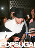 Justin Timberlake hit up the afterparty in NYC.