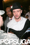 Justin Timberlake left the VMAs afterparty.