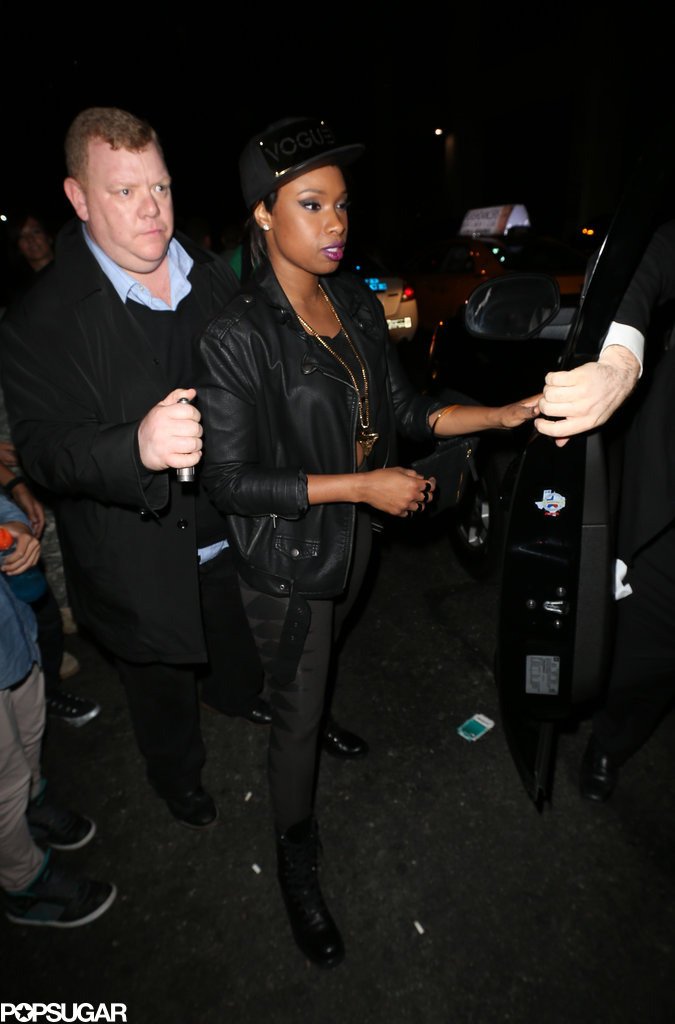 Jennifer Hudson left the Dream Hotel.