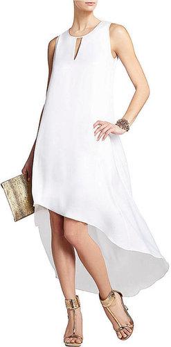 BCBGMAXAZRIA Willow Asymmetrical Hem Dress