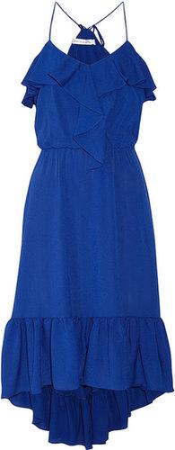 T-Bags Ruffled georgette dress