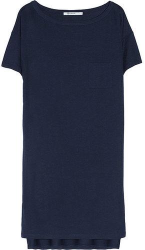 T by Alexander Wang Classic jersey T-shirt dress