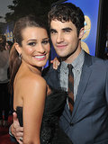 Lea Michele and Darren Criss hit the red carpet together for the LA premiere of Glee: the 3D Concert Movie in August 2011.